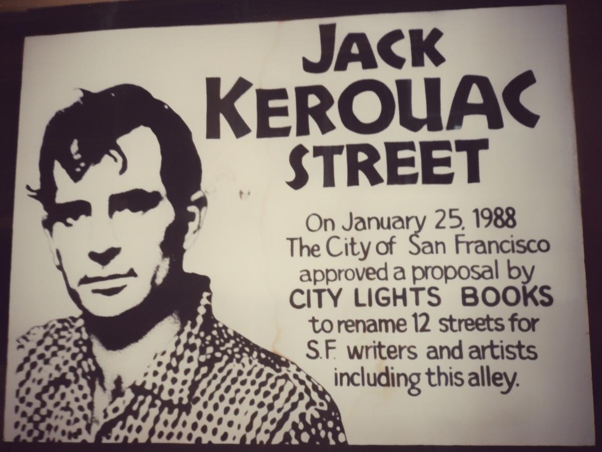 Jack Kerouac Street a San Francisco